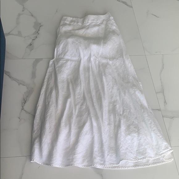 100 %linen skirt
